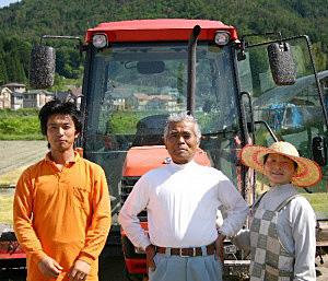 家族で安全・安心、おいしい農産物と加工品を生産する
